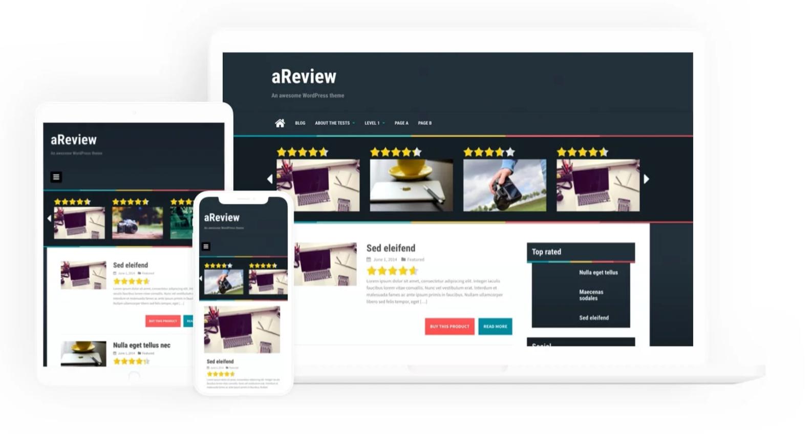 Ariview WordPress theme