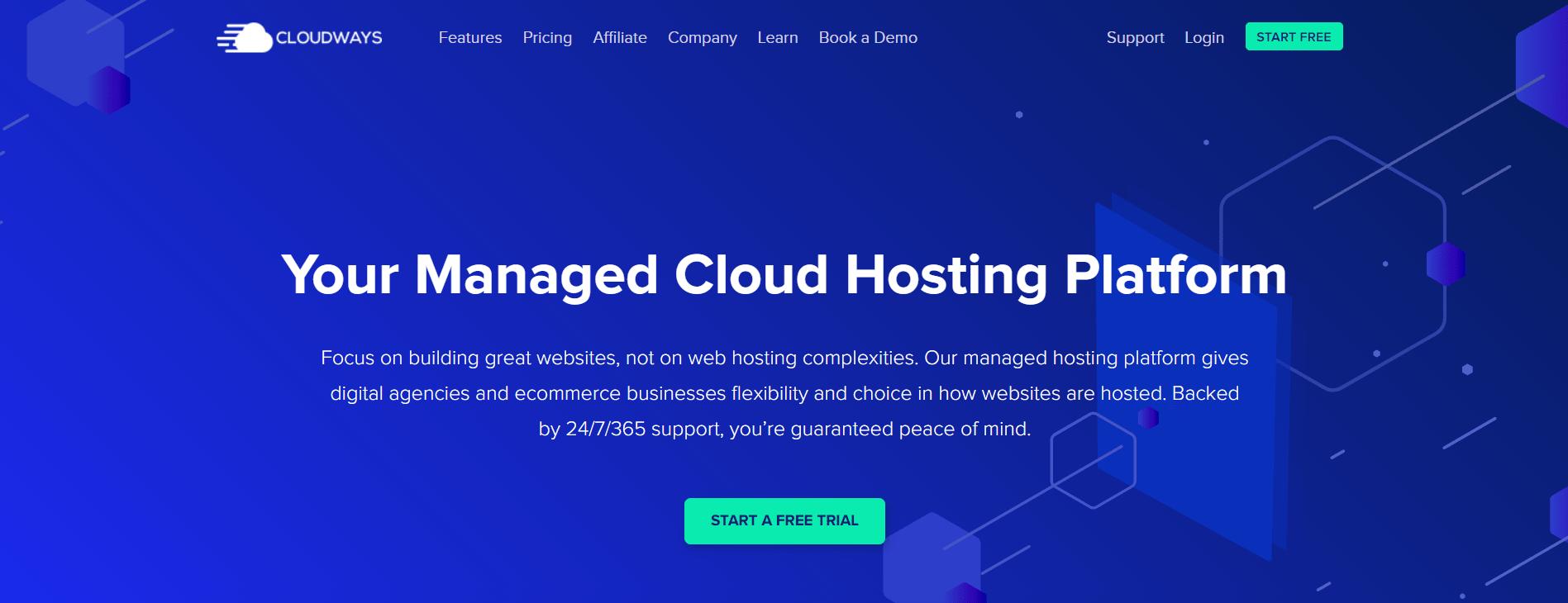 Cloudways Magento Hosting banner image
