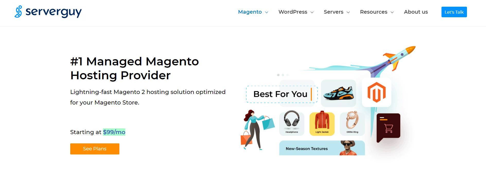 Serverguy Magento Hosting Banner Image