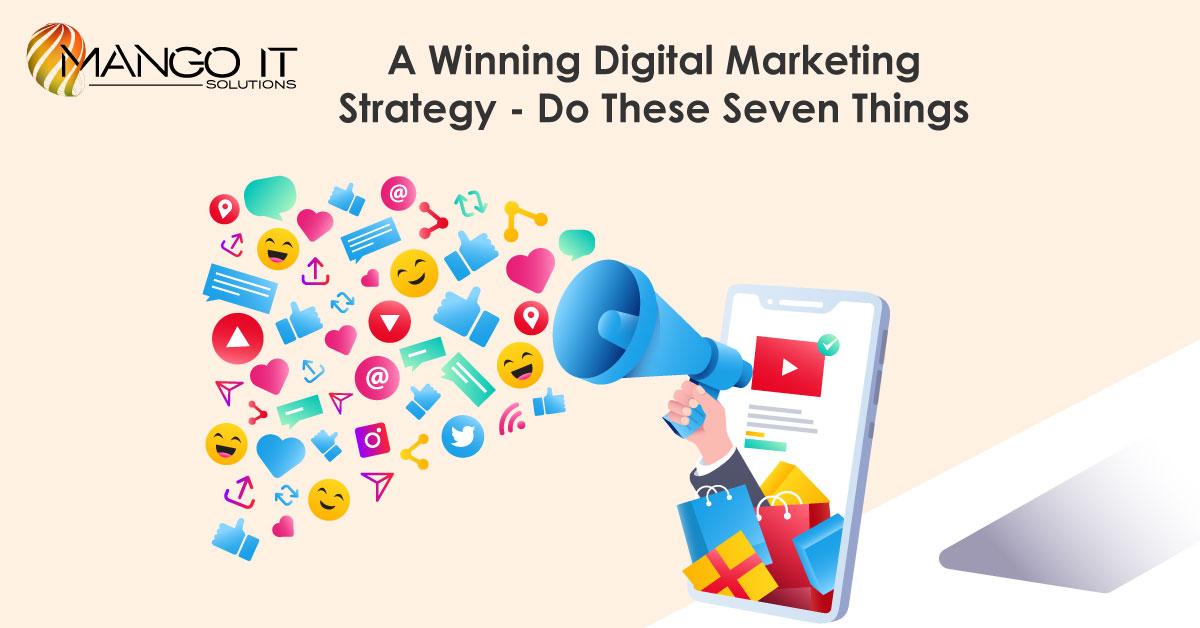 A Winning Digital Marketing Strategy